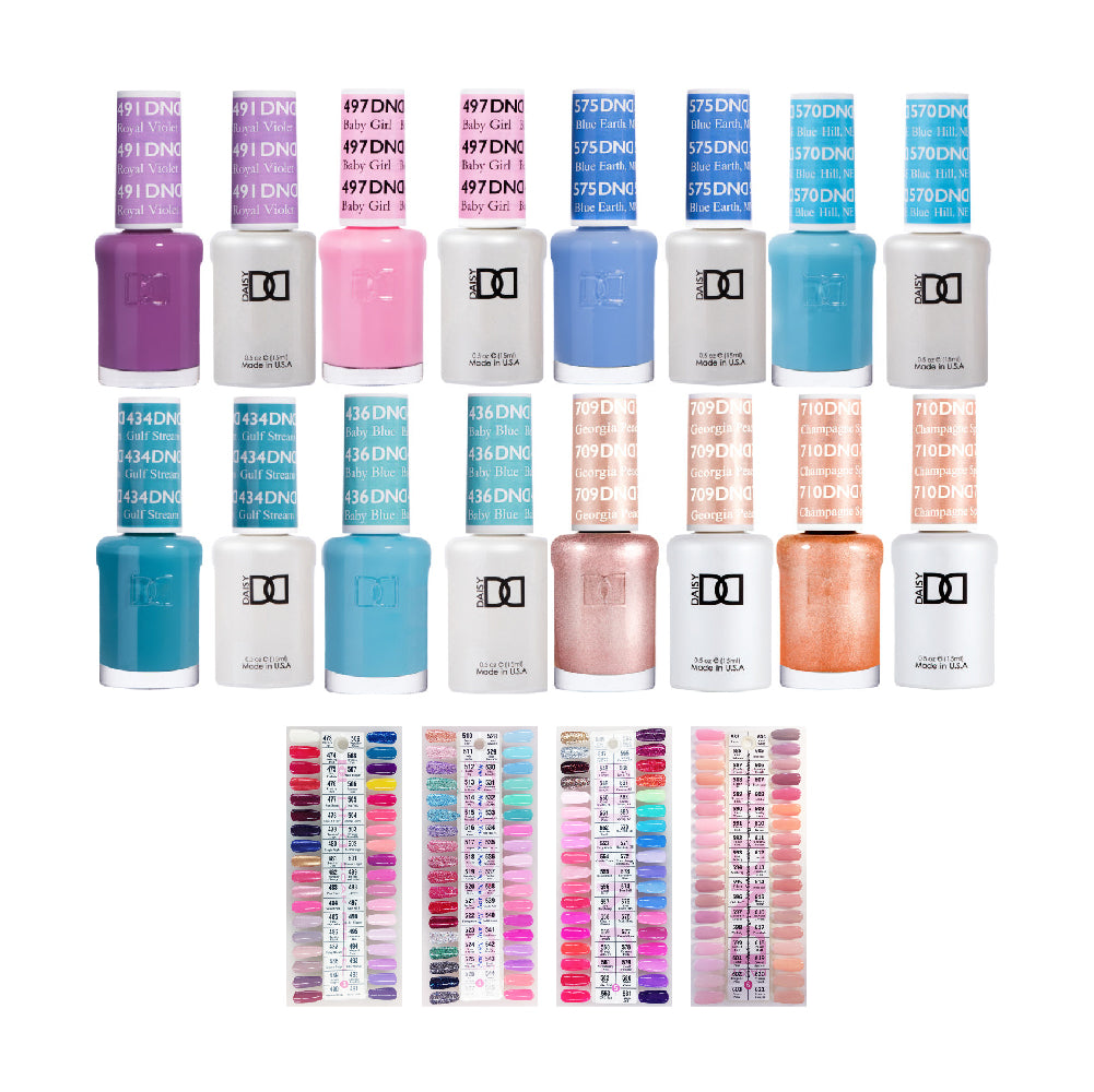 DND Gel & Lacquer: 307 Colors