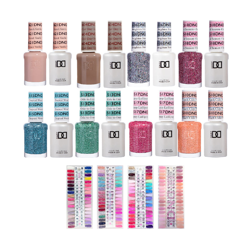 DND Gel & Lacquer: 235 Colors