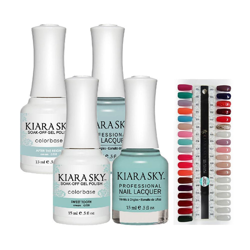 Kiara Sky Part 4 - Set of 36 Gel & Lacquer Combos