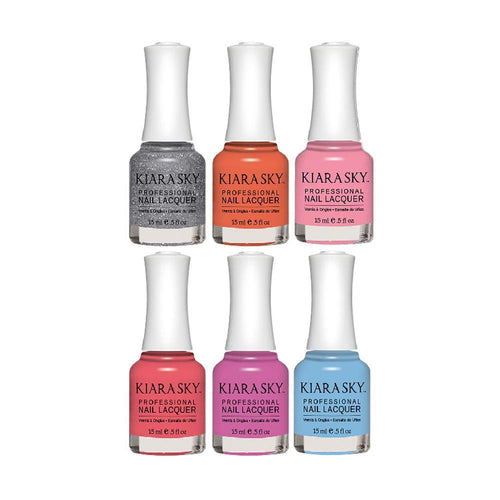 Kiarasky Ice Cream Parlour Nail Lacquer Collection