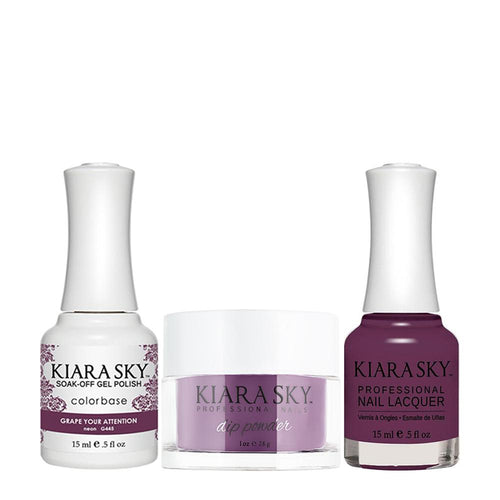 Kiara Sky 3 in 1 - 445 Grape Your Attention DGL445