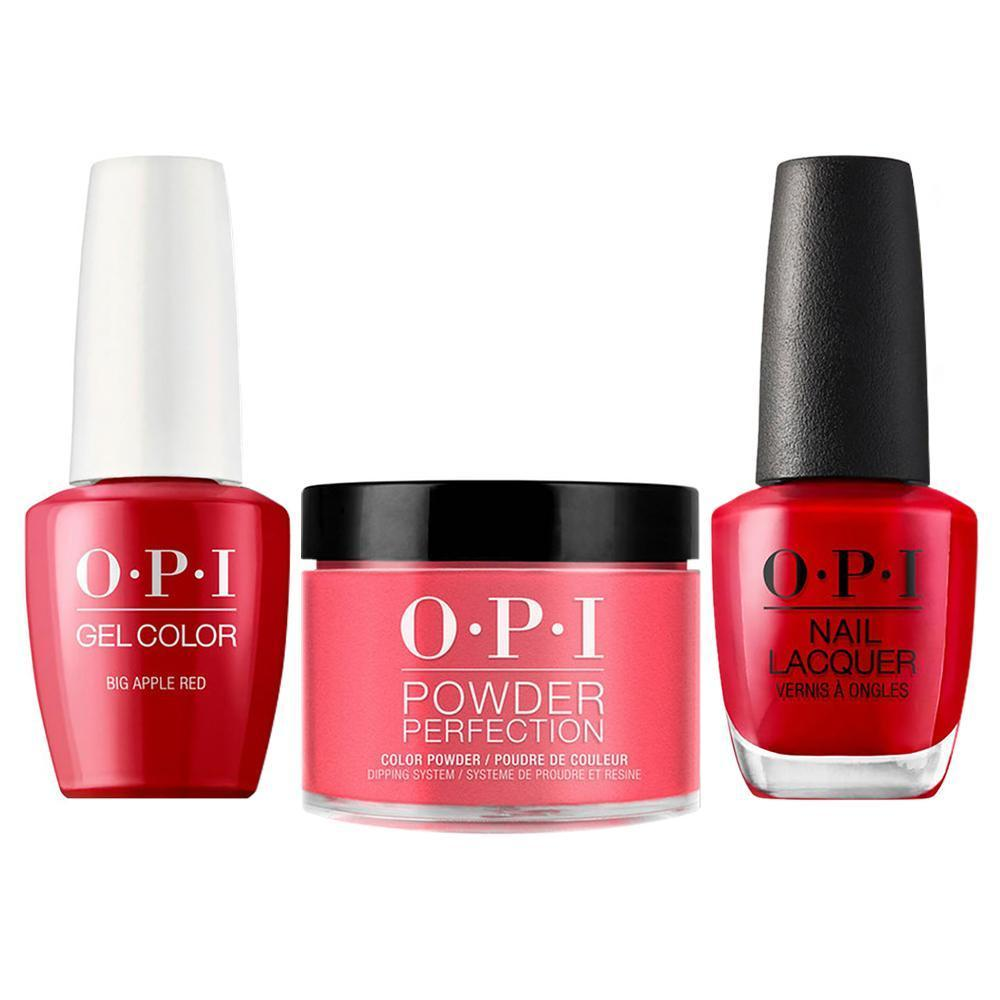 OPI 3 in 1 - DGLN25 - Big Apple Red