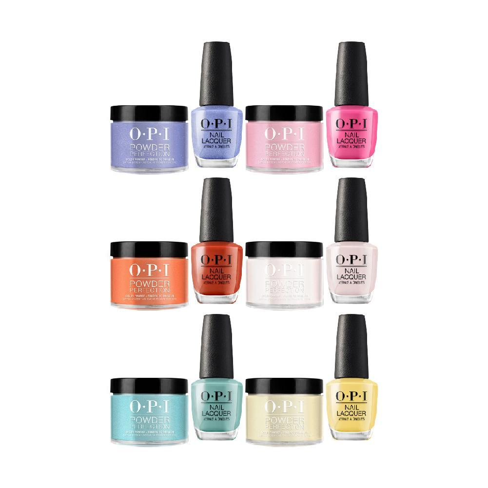 51 OPI New Colors Powder & Lacquer Combo