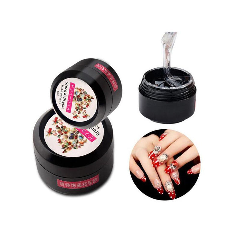 Sticky Glue Nail Art Rhinestone Gel Glue