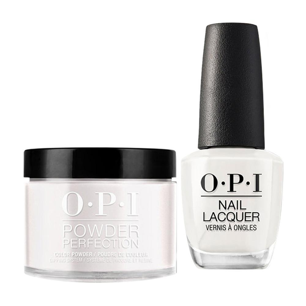 OPI - Dip & Lacquer Combo -  T71 It's in the Cloud