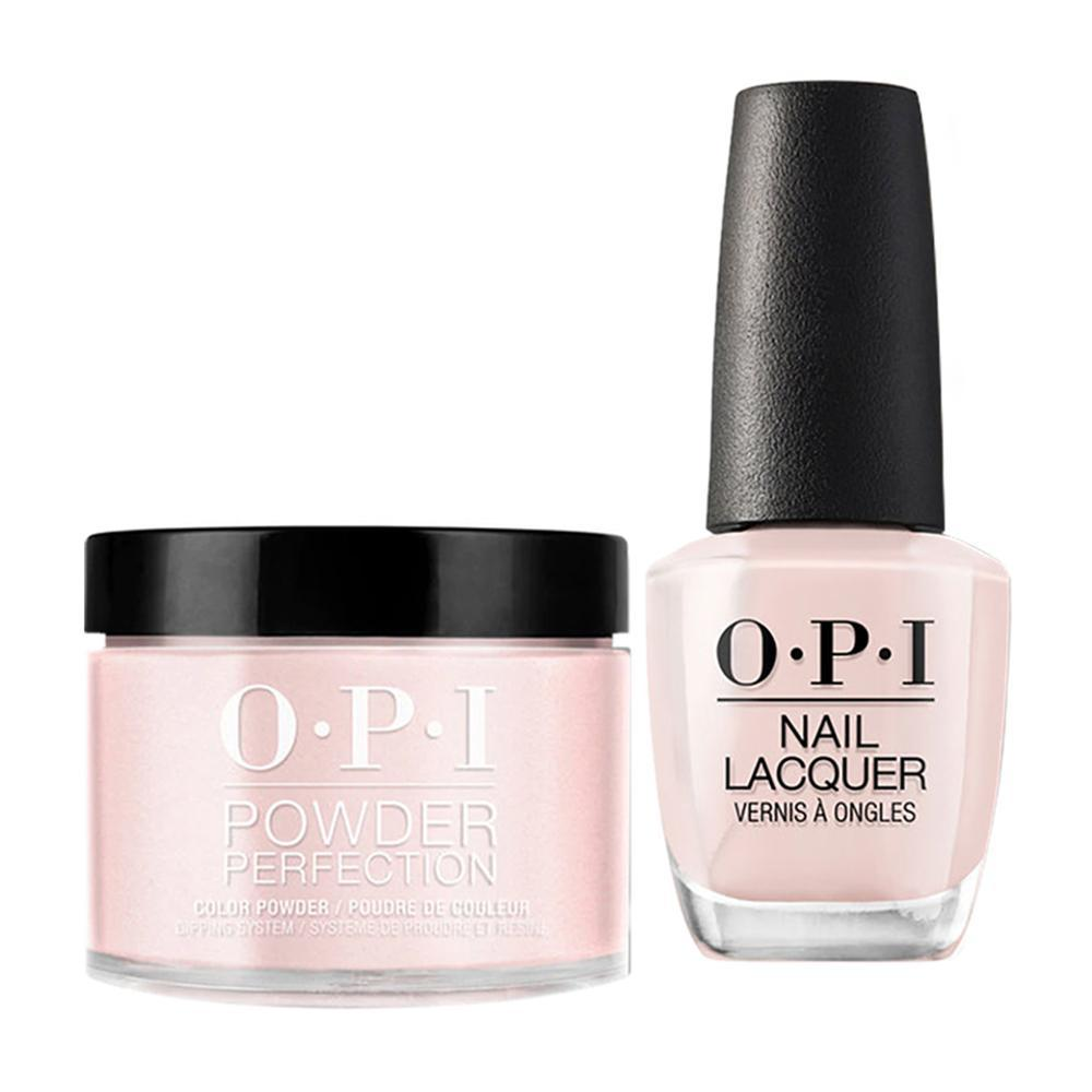OPI - Dip & Lacquer Combo -  T74 Stop it I'm Blushing!