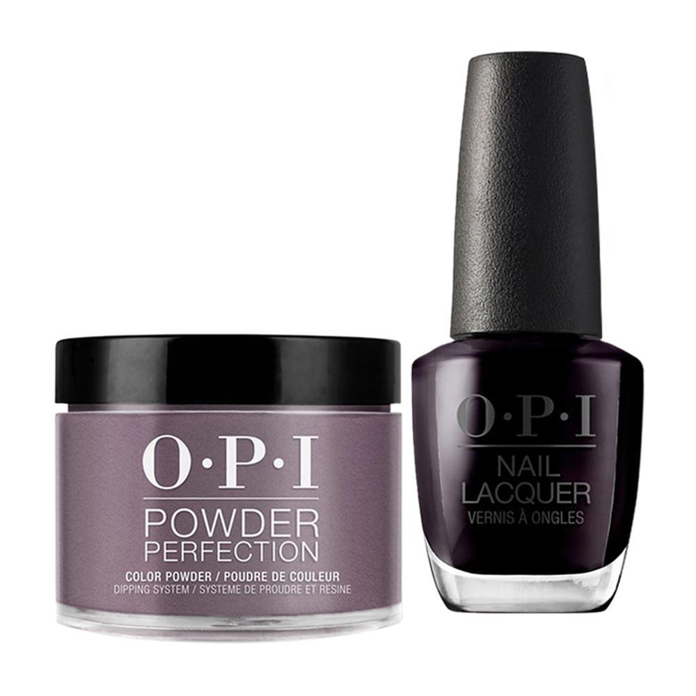 OPI - Dip & Lacquer Combo -  W42 Lincoln Park After Dark