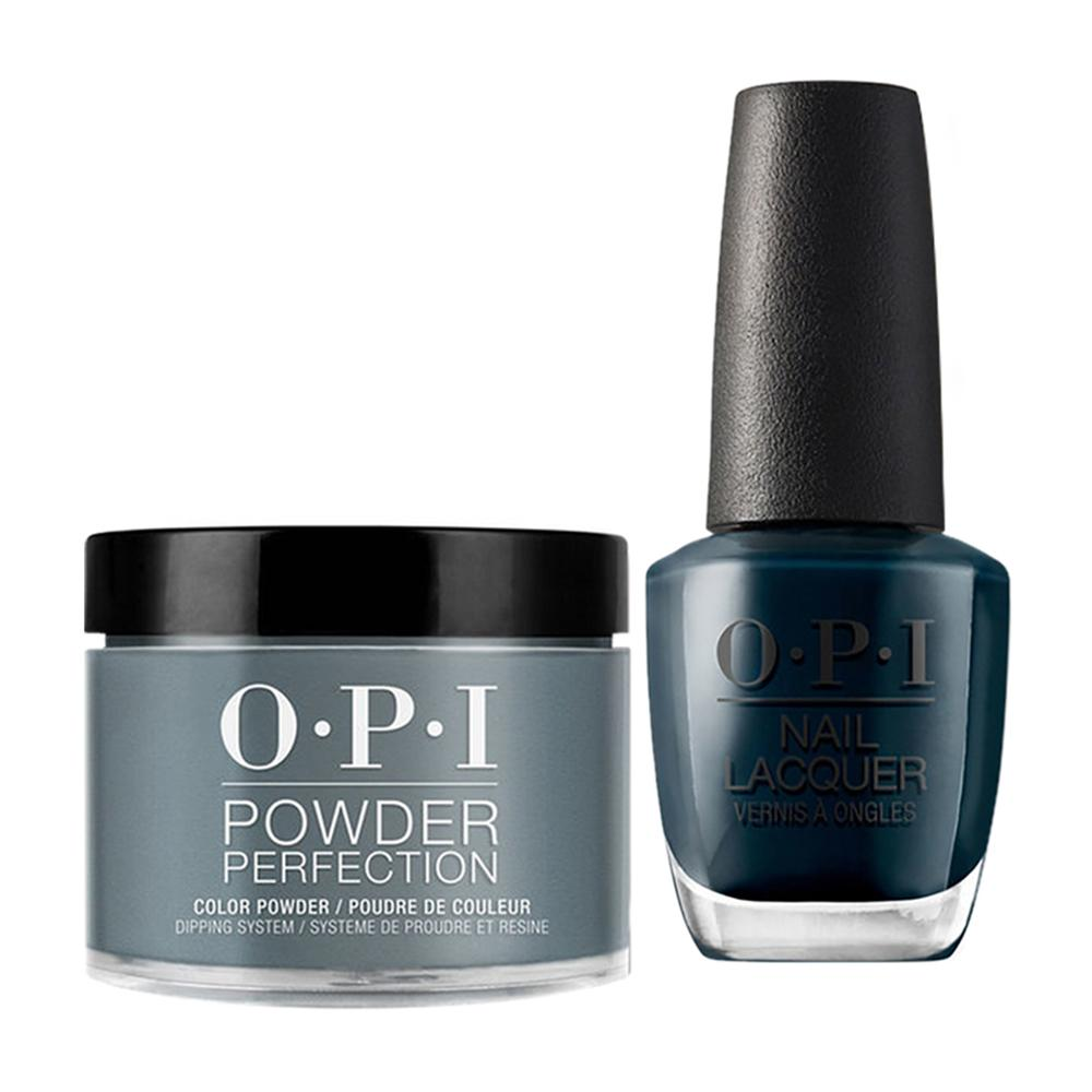 OPI - Dip & Lacquer Combo -  W53 CIA = Color is Awesome