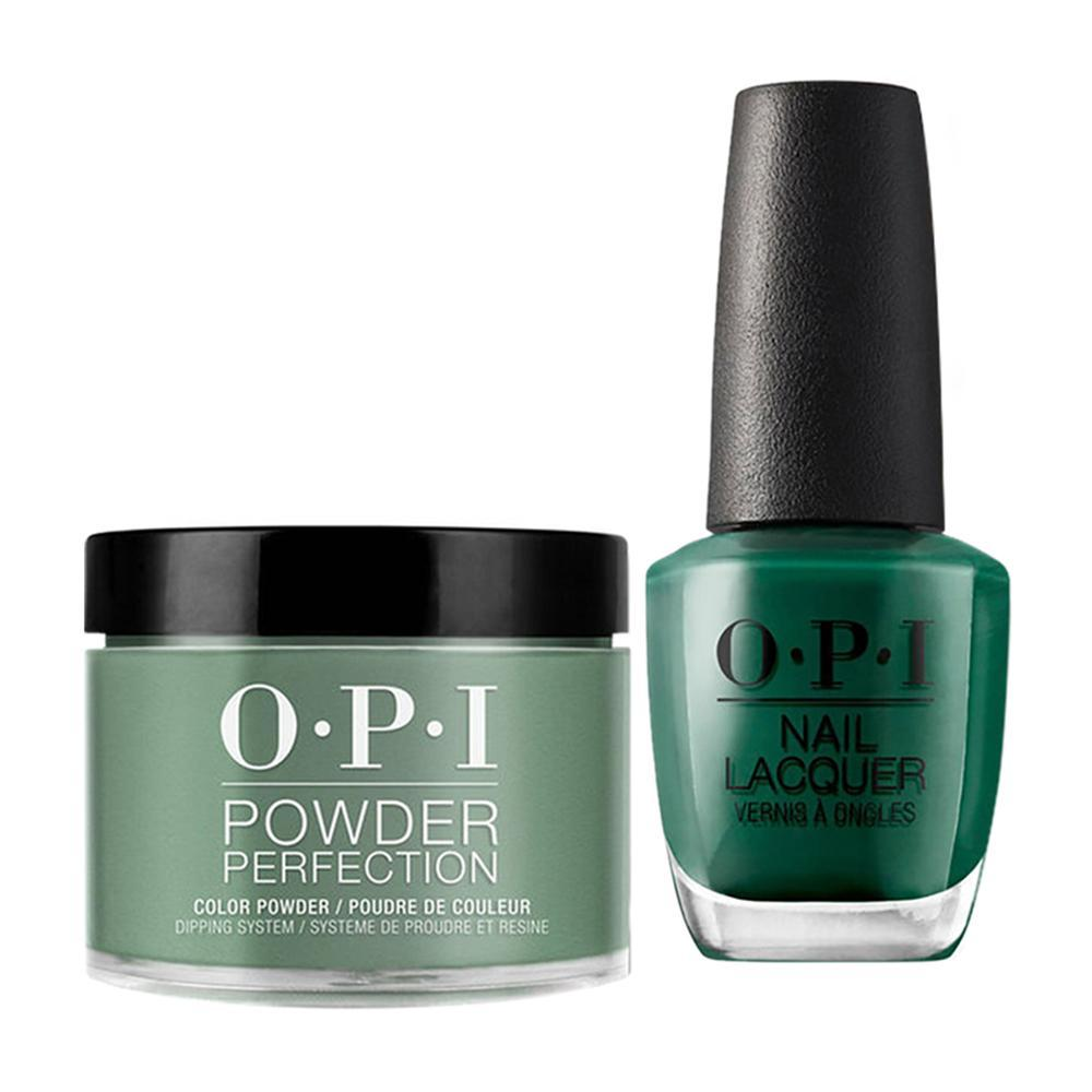 OPI - Dip & Lacquer Combo -  W54 Stay Off the Lawn!!