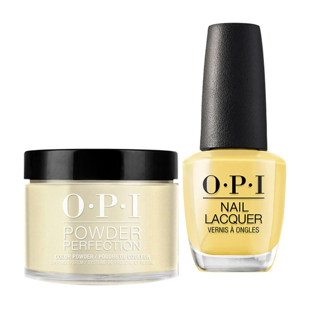 OPI - Dip & Lacquer Combo -  W56 Never a Dulles Moment