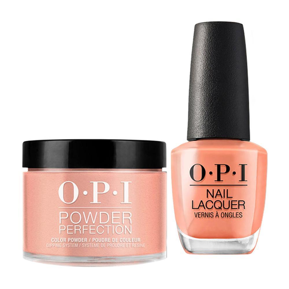 OPI - Dip & Lacquer Combo -  W59 Freedom of Peach