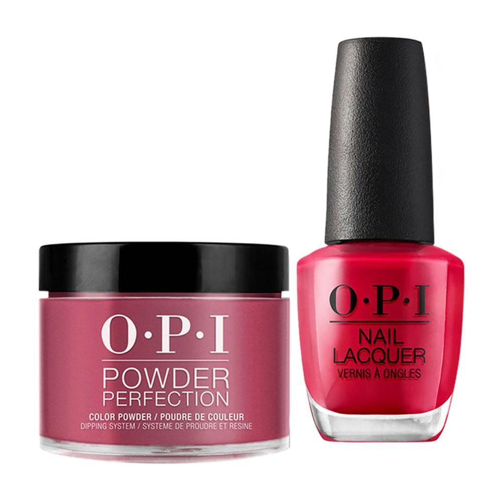 OPI - Dip & Lacquer Combo -  W63 OPI by Popular Vote