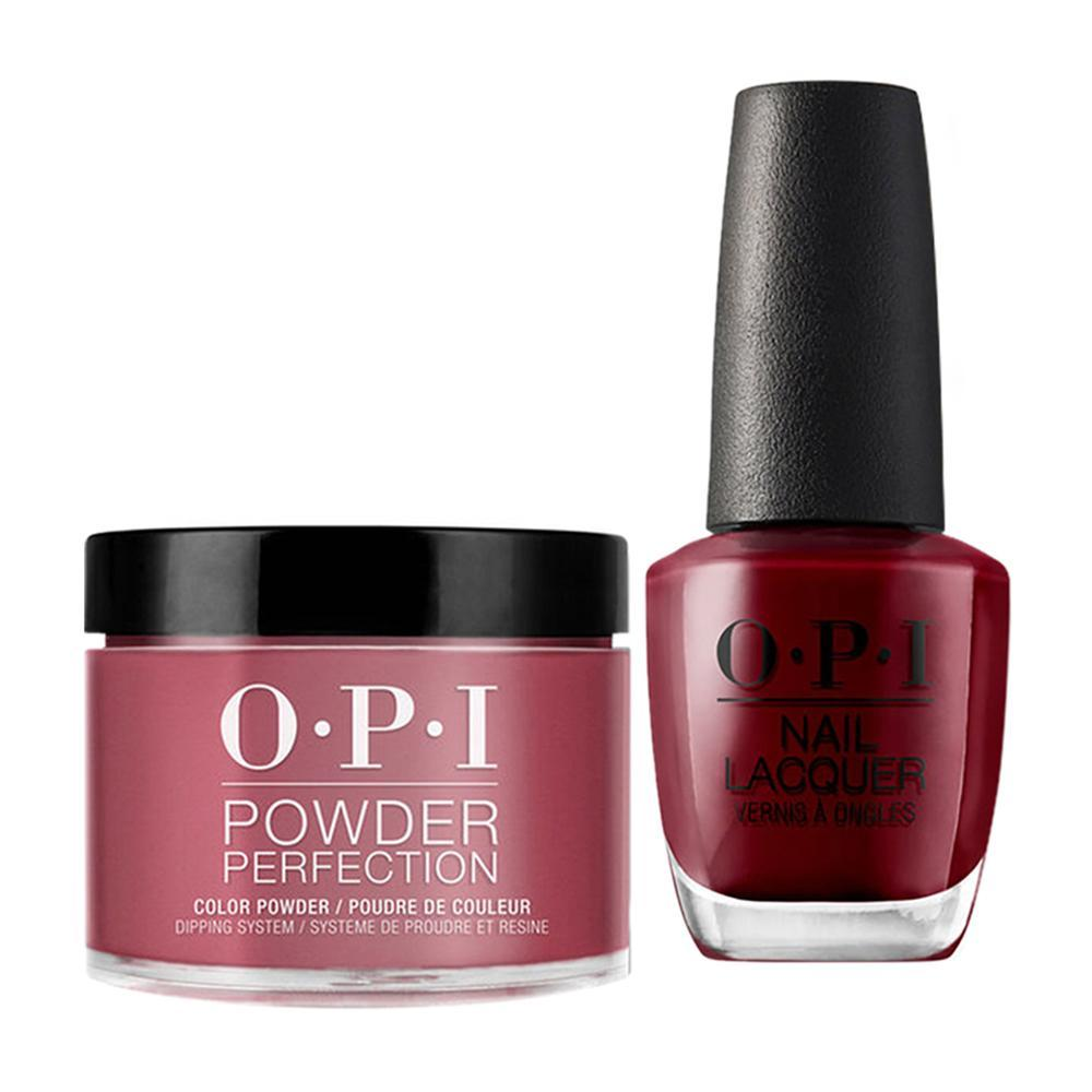 OPI - Dip & Lacquer Combo -  W64 We the Female