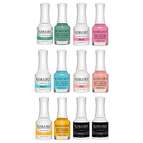 Kiara Sky Gel Starter Kit - 612, 613, 614, 616, 617, BT