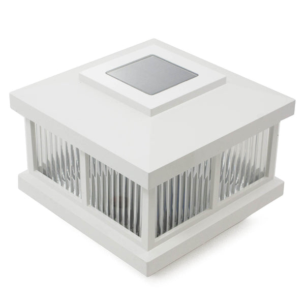 "4"" Sq. Cambridge Solar Light Post Cap"