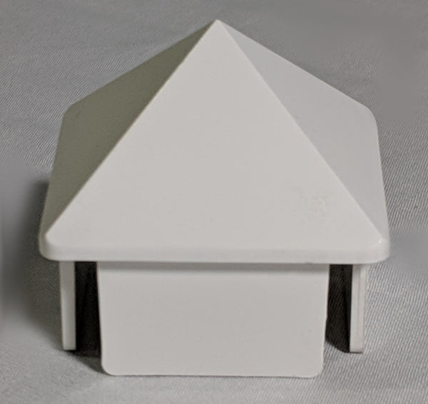 "1.375"" Sq. Sharp Picket Cap"
