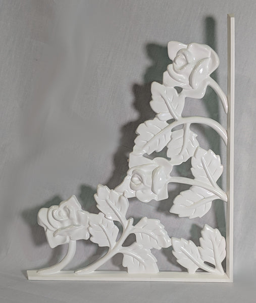 Rose Scroll Decorative Insert - Small