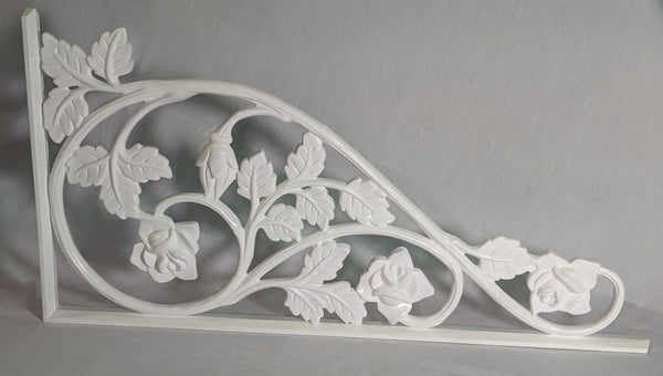 Rose Scroll Decorative Insert - Medium