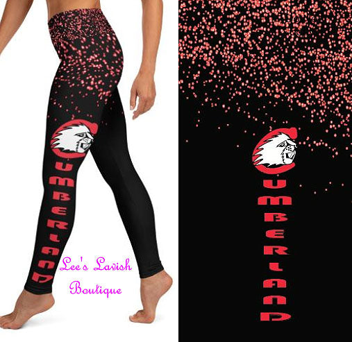 Cumberland Beavers Custom Leggings