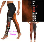 Elk Mound Custom Leggings