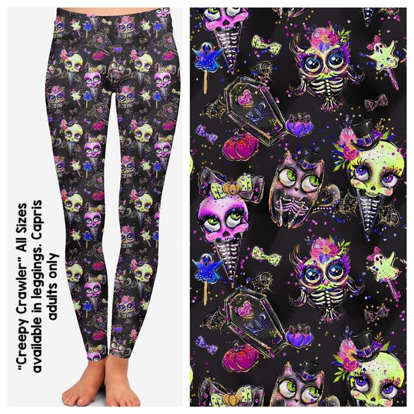 Creepy Crawler Custom Leggings (CV)