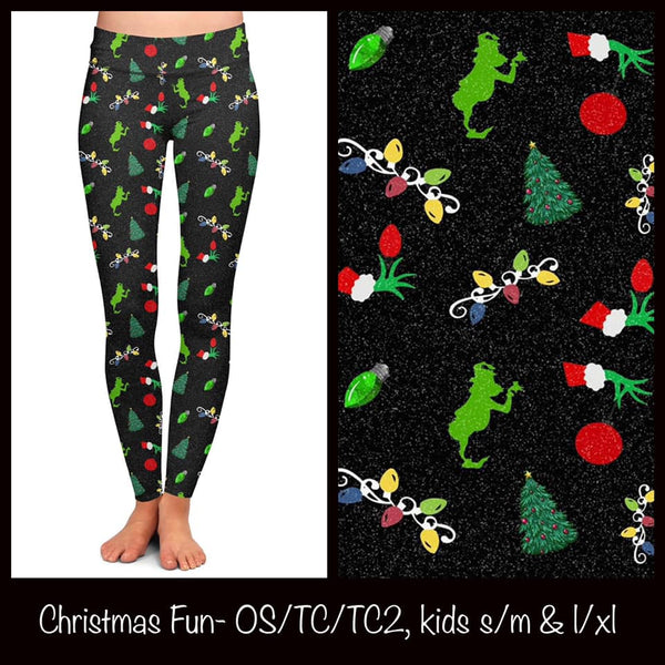 Christmas Fun Custom Leggings