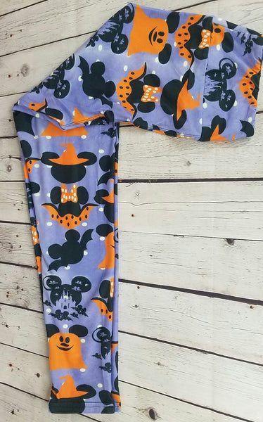 Mickey Halloween Custom Leggings *Kids & Adult