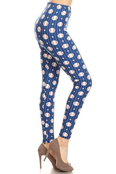 Baseball Fan Leggings