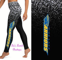 Rice Lake Warriors Custom Legging Pre-Order *Kids & Adults