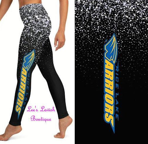 Rice Lake Warriors Custom Leggings *Kids & Adults