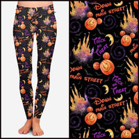Trick or Treat Custom Legging Pre-Order *Kids & Adults (Closes 5PM CST 7/3)