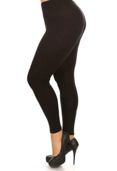 Solid Leggings - Black