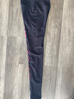 LLB Logo Custom Pocket Capri Leggings