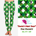 Santa's Meat Shop Custom Pocket Legging Pre-Order (Closes 8PM CST 11/8)