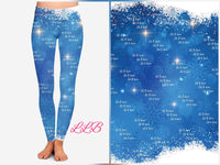 Let It Snow Custom Leggings