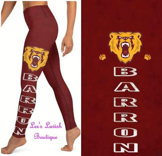 Barron Bears Custom Leggings *Kids & Adult