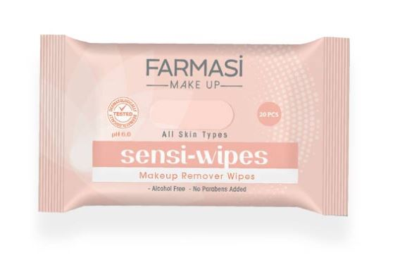 Farmasi Sensi Wipes Makeup Cleaning Wipes
