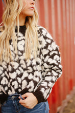Load image into Gallery viewer, Fuzzy Leopard Sweater