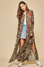 Load image into Gallery viewer, Camo Duster Dress