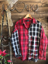 Load image into Gallery viewer, Red Plaid Top