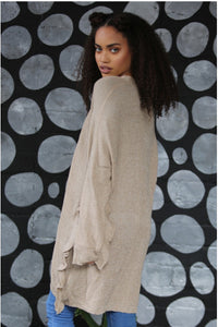 Sand Cardigan Sweater