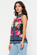 Load image into Gallery viewer, Floral Halter Top