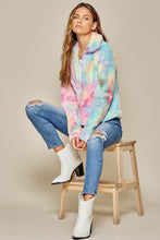 Load image into Gallery viewer, Tie Die Sherpa