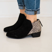 Load image into Gallery viewer, Matisse Poppy Booties in Black Suede