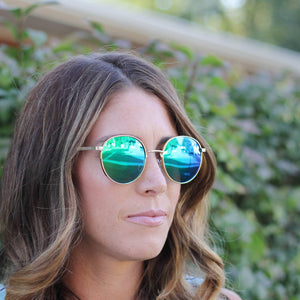 American Bonfire Roam Sunglasses in Green
