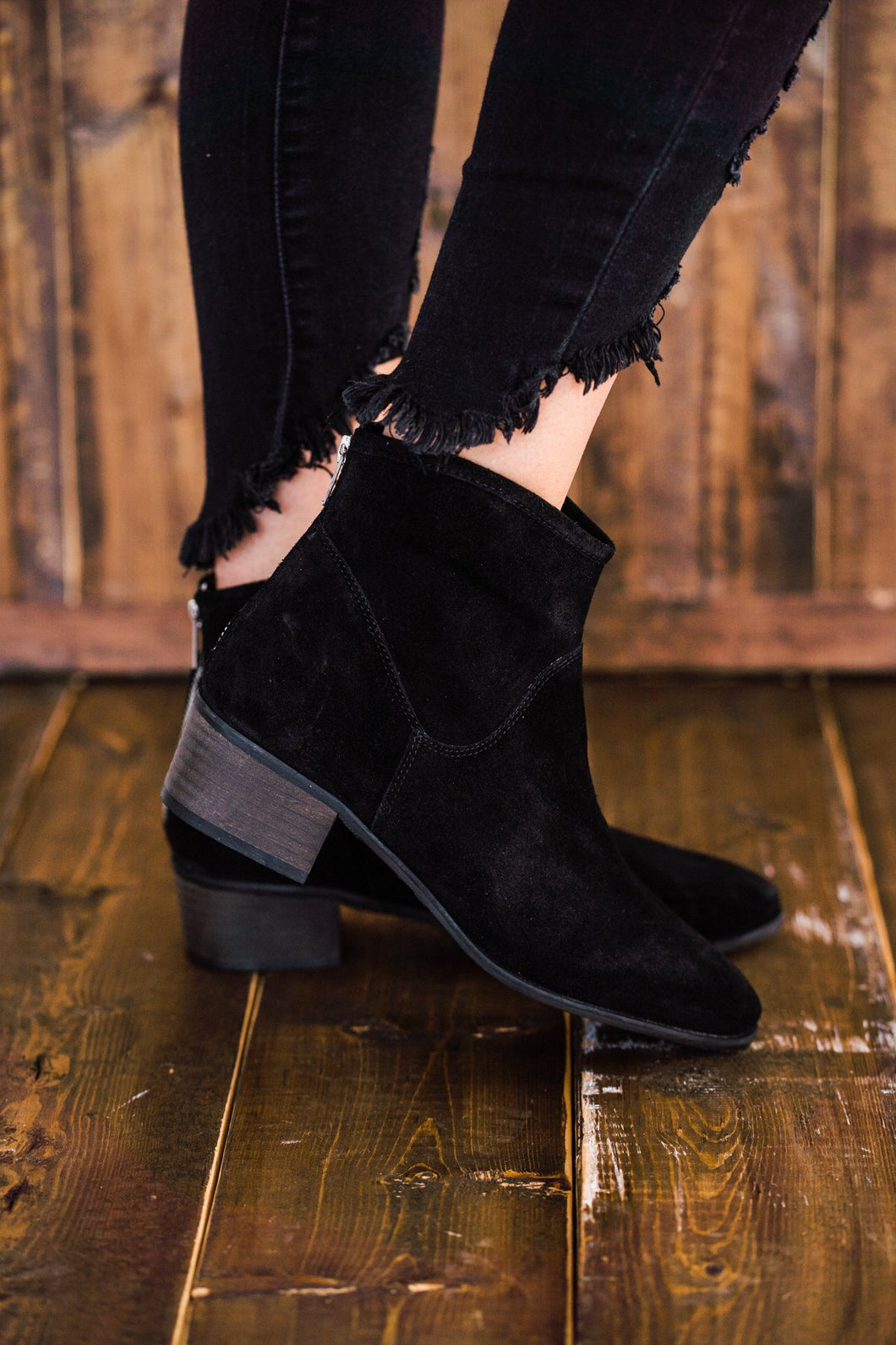 Matisse Slow Down Ankle Boot in Black