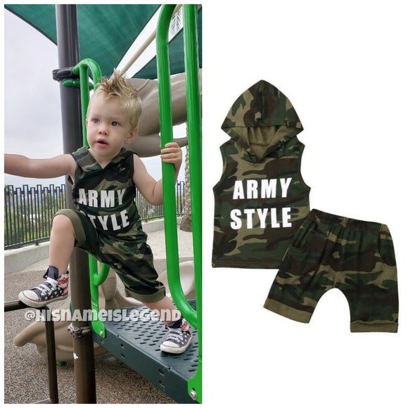 Army Style Set - StarSailyrBoutique