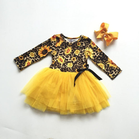 Sunflower Leopard Dress
