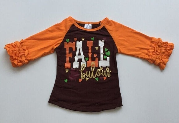 FALLbulous Raglan with Ruffles - StarSailyrBoutique