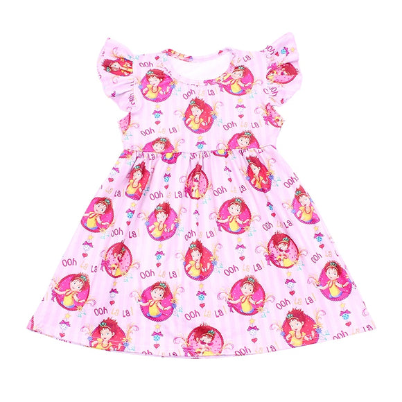 Fancy Nancy Milk Silk Dress
